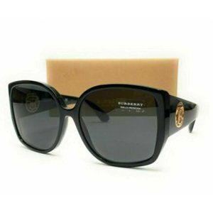 Burberry Women's Black and Grey Sunglasses!